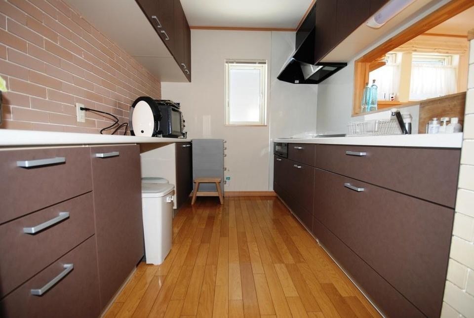 キッチンはゴミの収納スペースや親子で調理できる広さなどの要望が実現