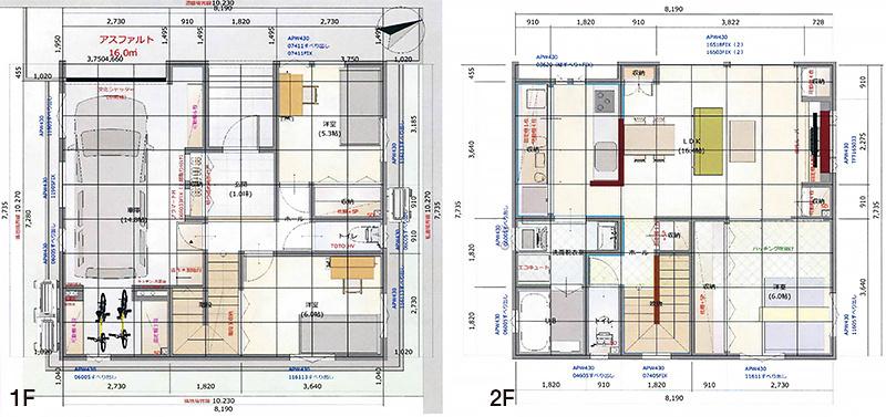 奥野工務店2020モデルハウス平面図