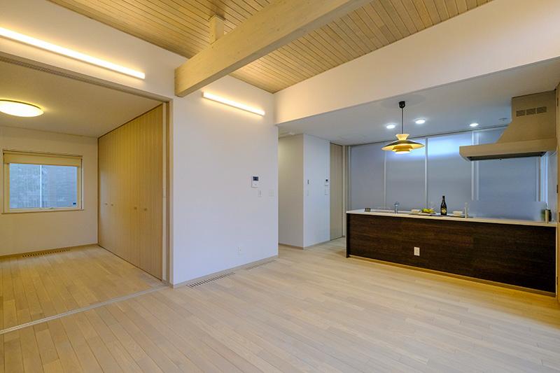 奥野工務店2020モデルハウスLDK5