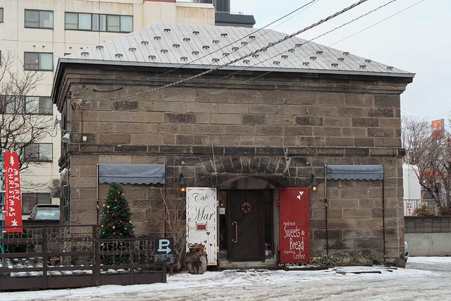 ■2014年12月11日 札幌軟石の蔵を改造した、札幌市中央区のcafe Mar(カフェマール)にて収録